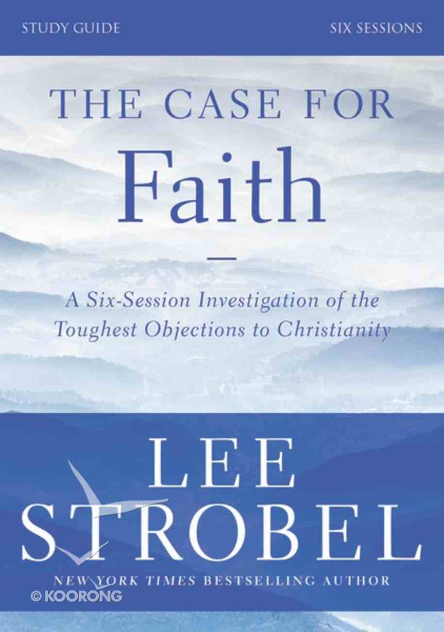 Case For Faith, the (Study Guide) Paperback