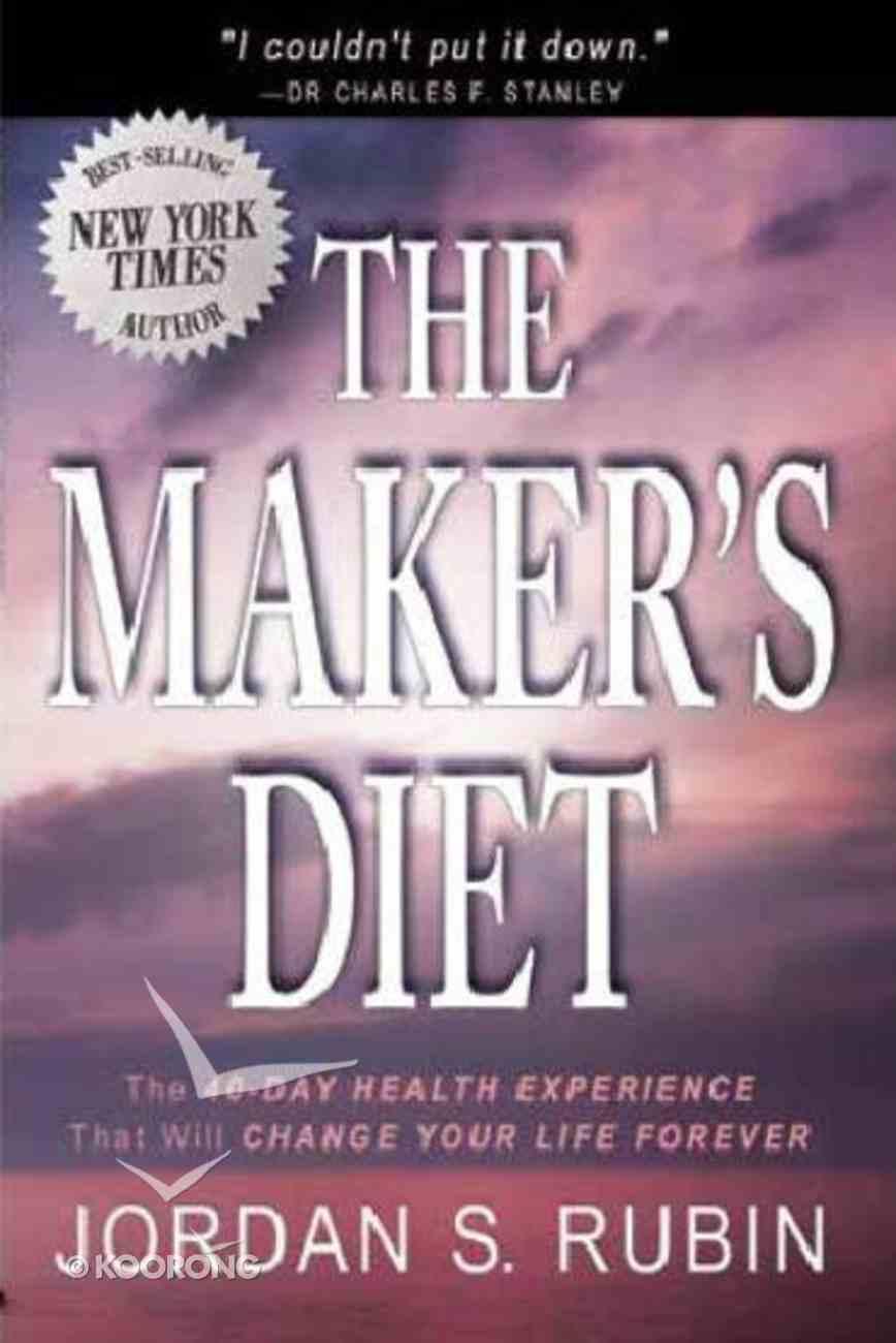 The Maker's Diet Paperback