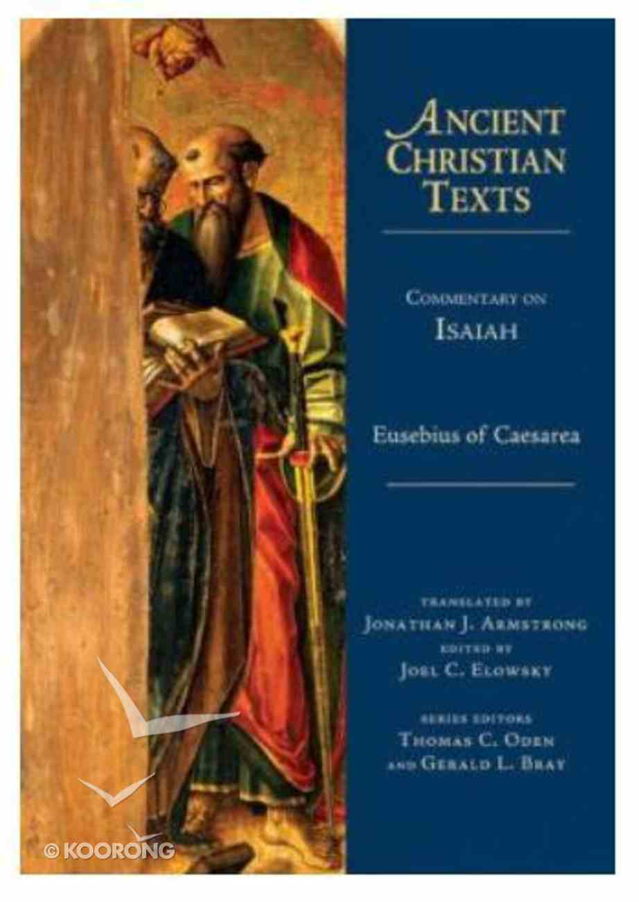 Commentary on Isaiah (Ancient Christian Texts Series) Hardback