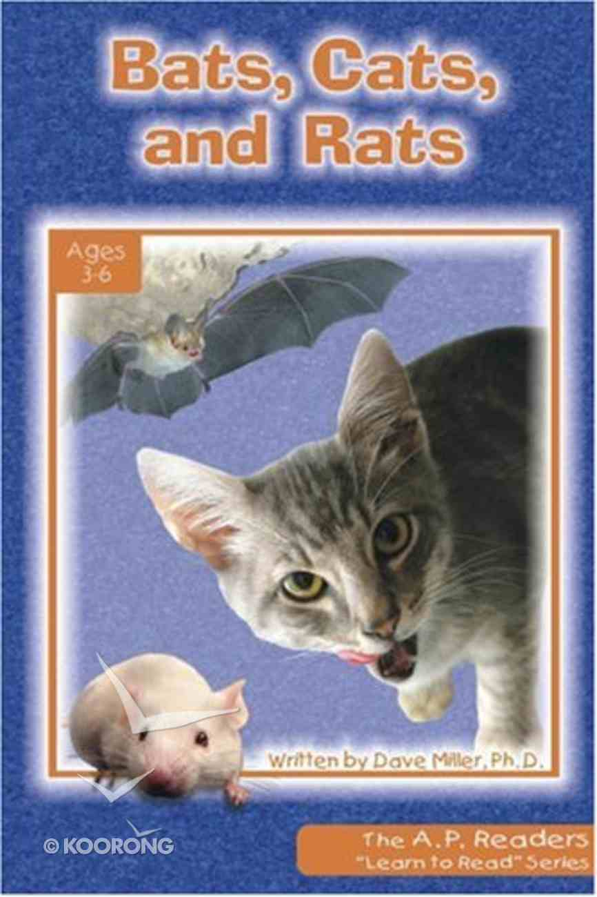 Bats, Cats, and Rats (A P Reader Series) Paperback