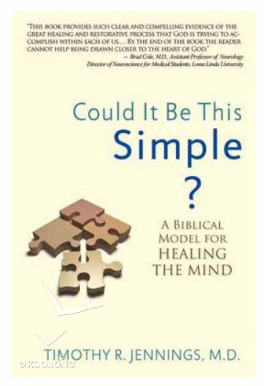Could It Be This Simple? Paperback