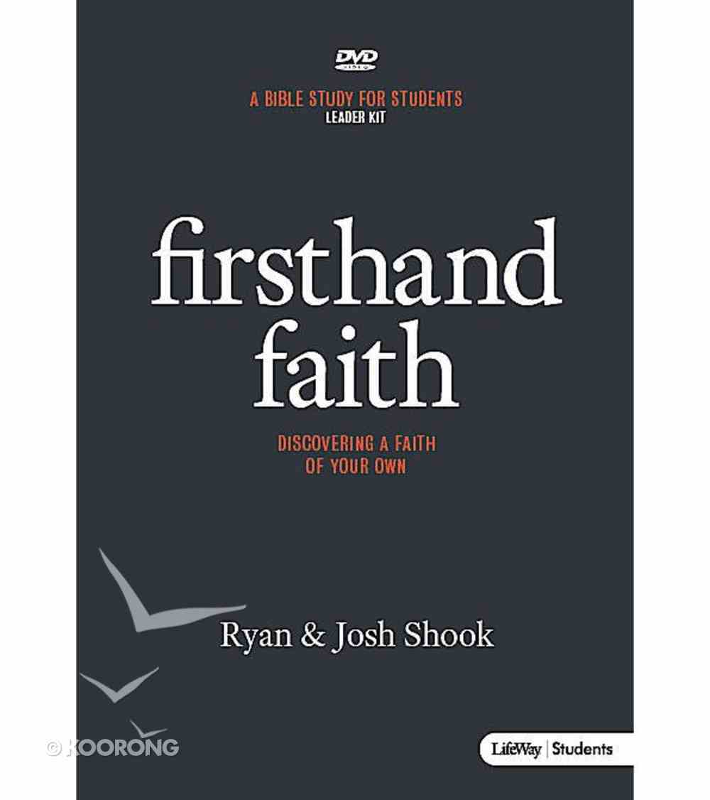 Firsthand Faith (Leader Kit) Pack