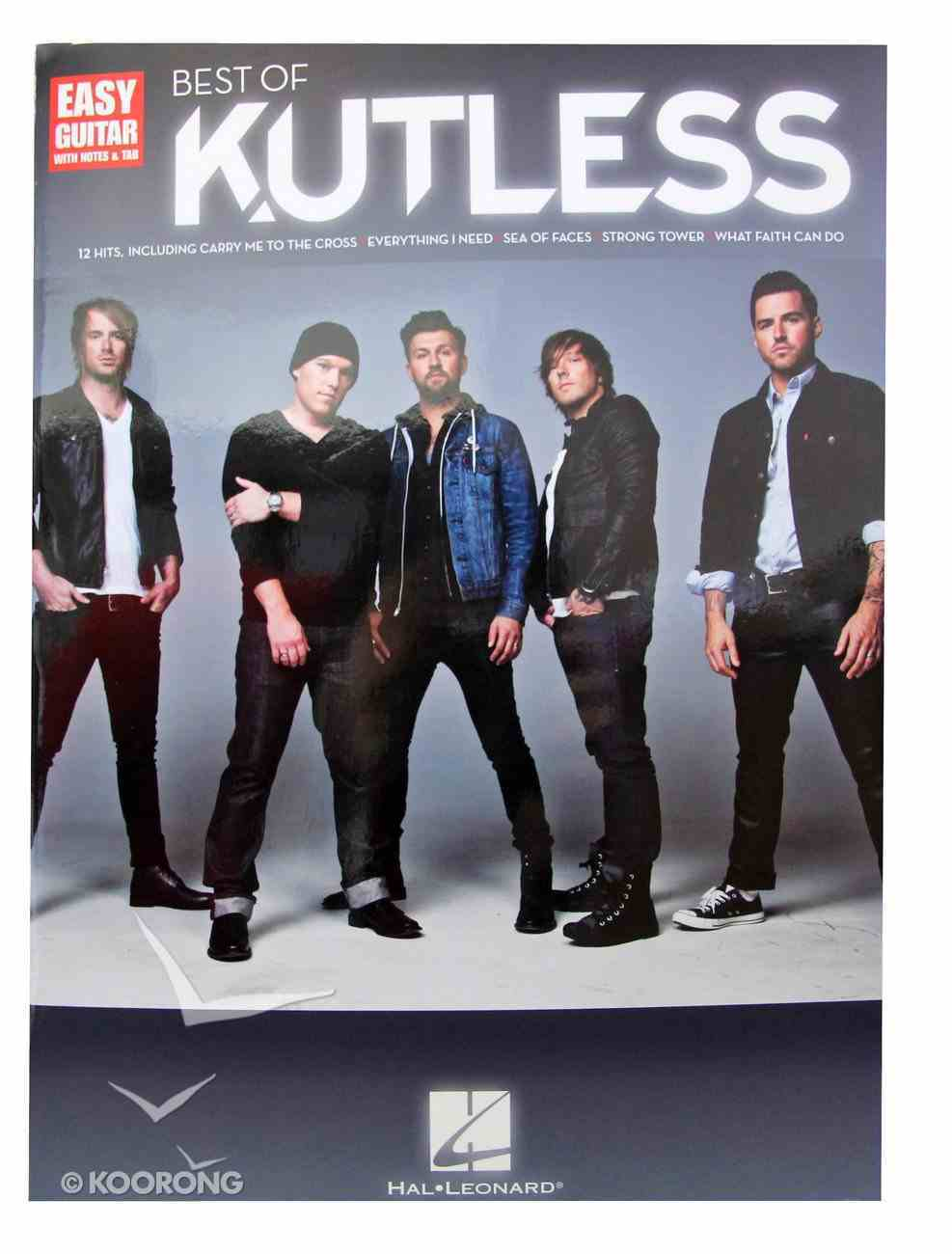 Best of Kutless (Music Book) Paperback