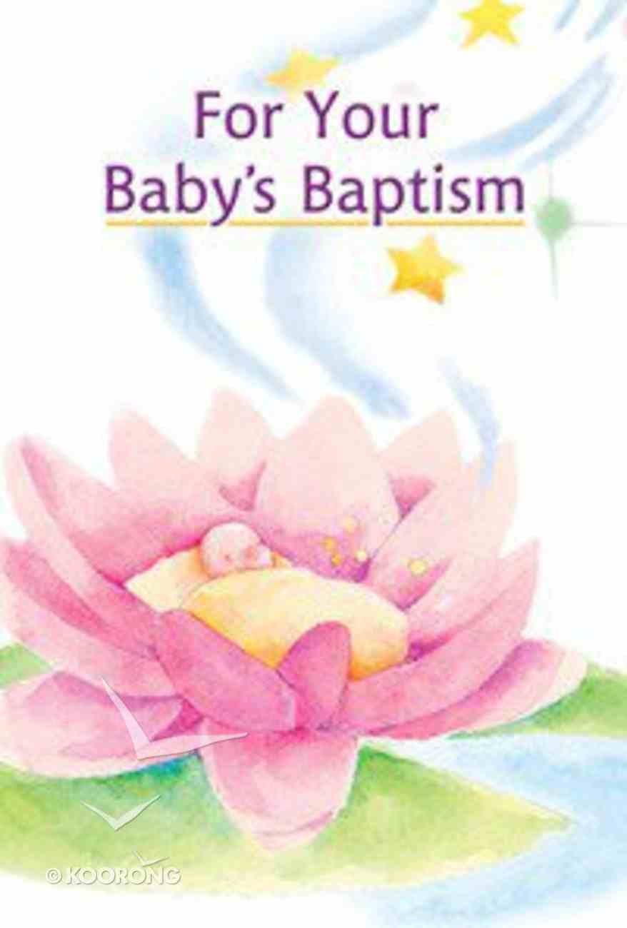 For Your Baby's Baptism Hardback