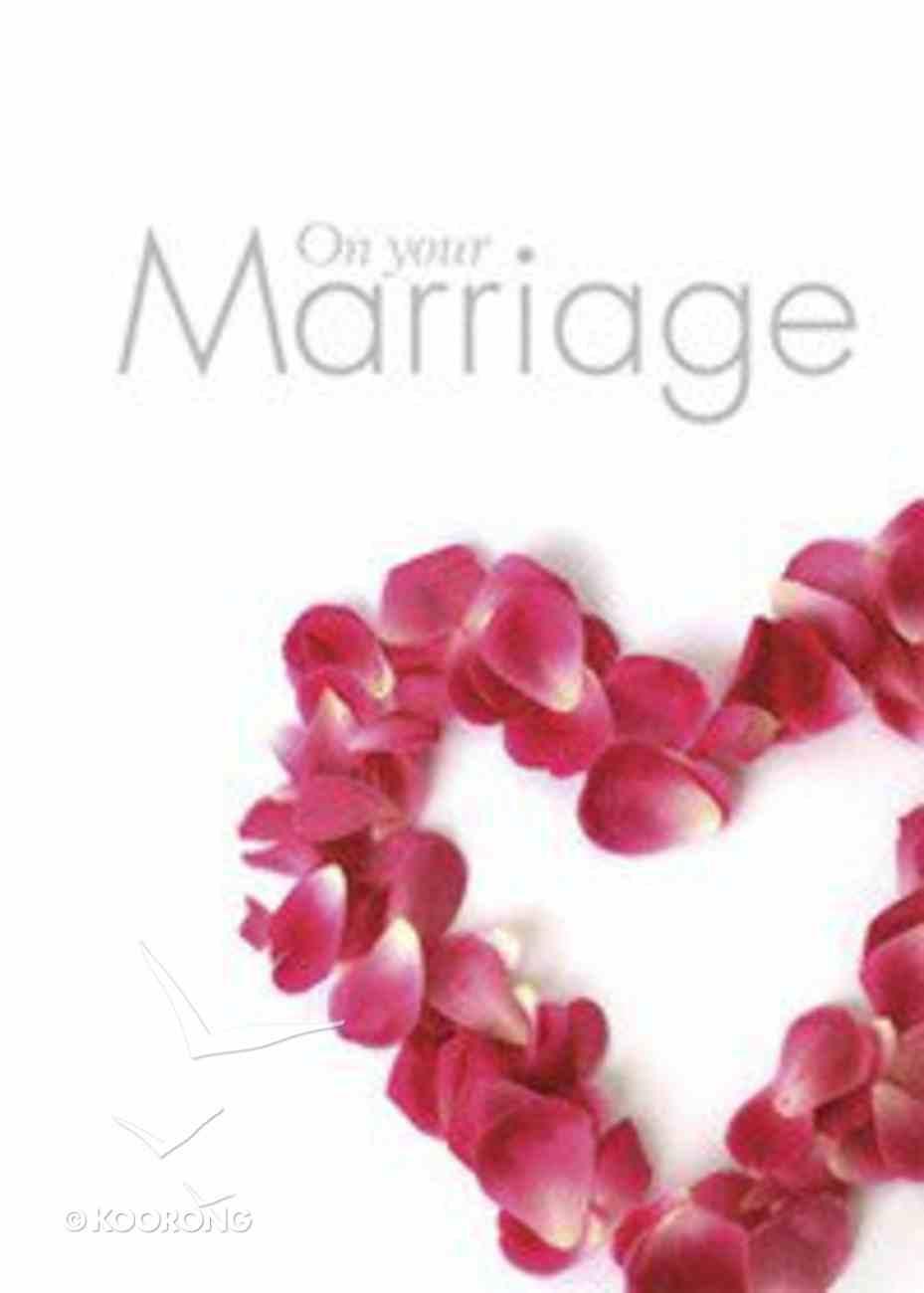 On Your Marriage Hardback