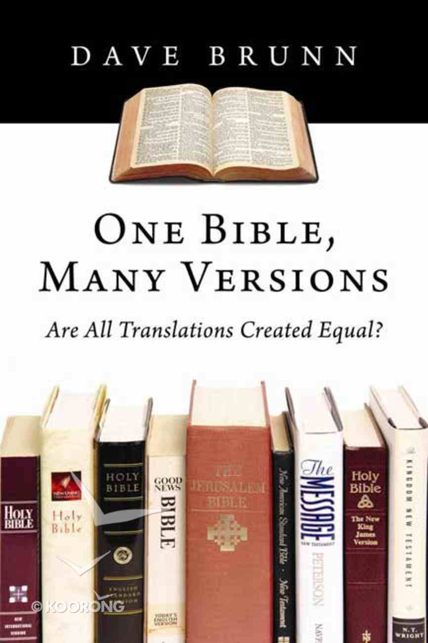 One Bible, Many Versions Paperback