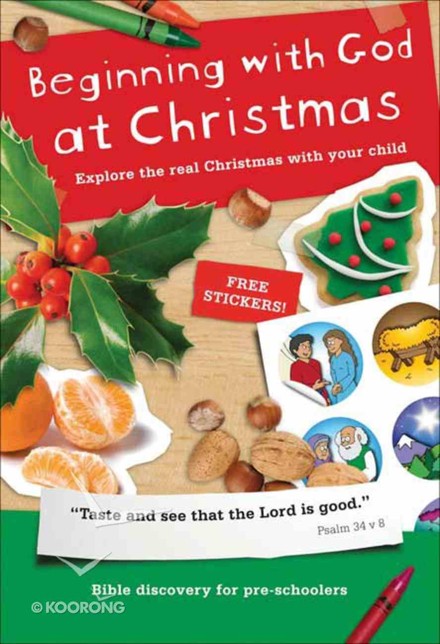 Beginning With God At Christmas Paperback