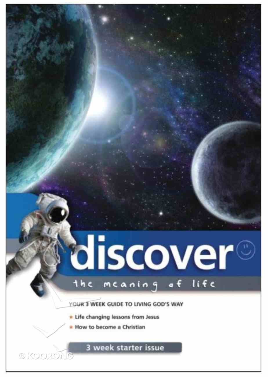 Discover Starter Issue #03: The Meaning of Life Paperback