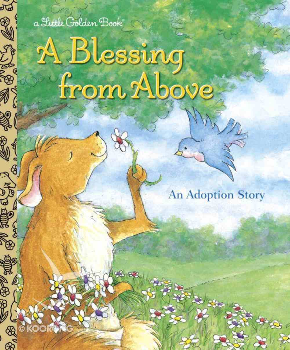 A Blessing From Above (Little Golden Book Series) Hardback