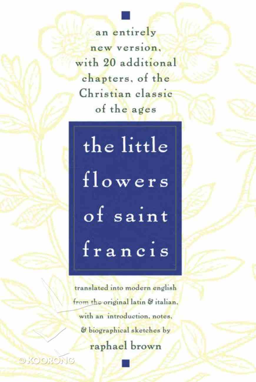 Little Flowers of Saint Francis ,The Paperback