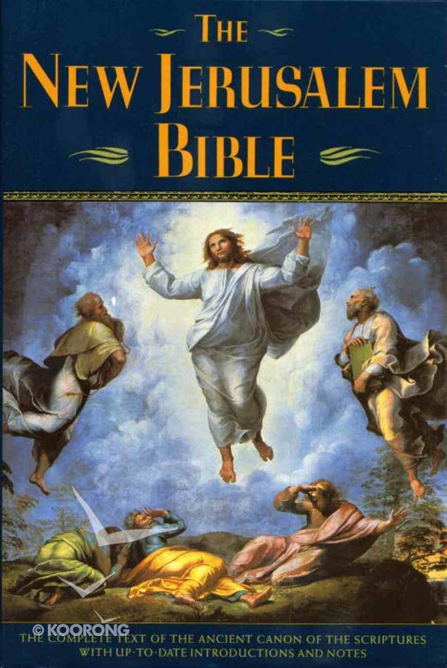 The New Jerusalem Bible Regular Edition Hardback