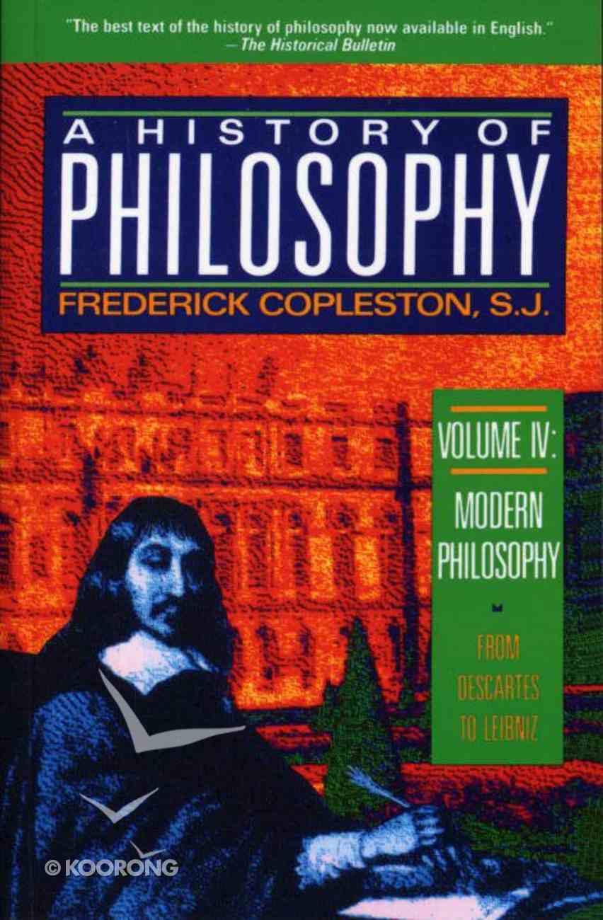 History of Philosophy (Vol 4) Paperback
