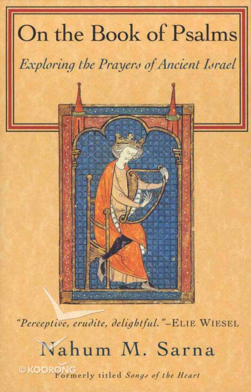 On the Book of Psalms Paperback