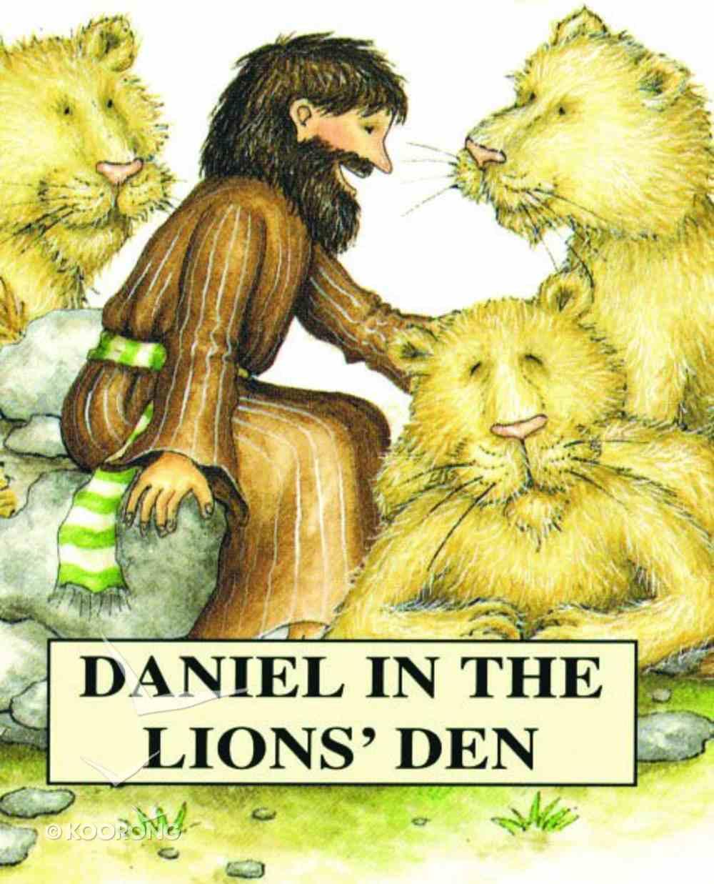 Daniel in the Lion's Den (Bible Pebbles Series) Paperback