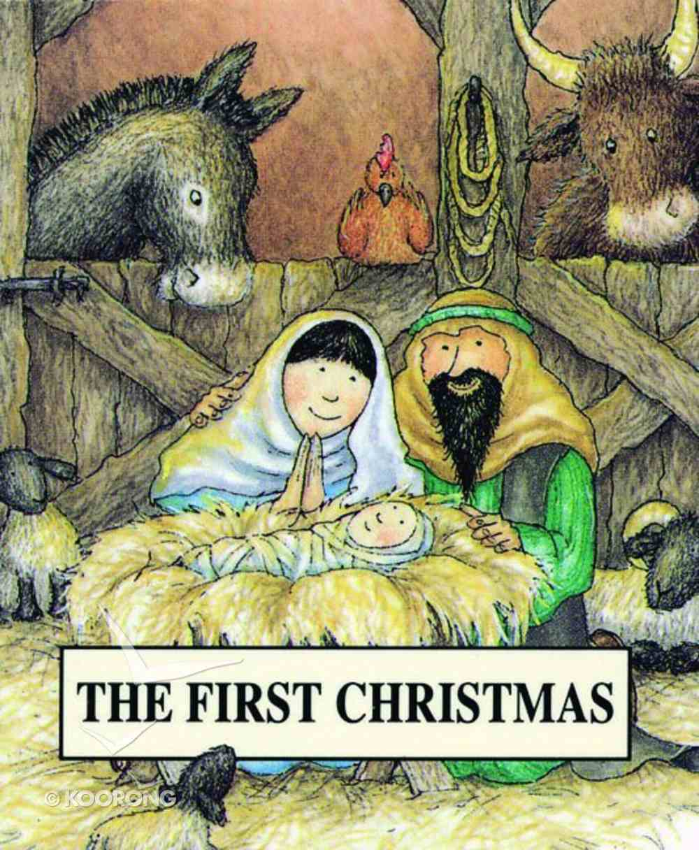 The First Christmas (Bible Pebbles Series) Paperback