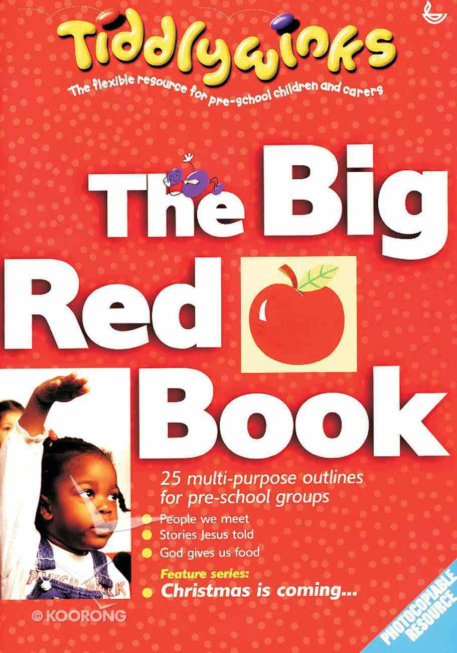 The Big Red Book (Tiddlywinks Series) Paperback