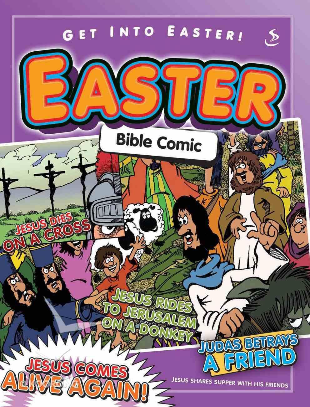 Easter Bible Comic Paperback