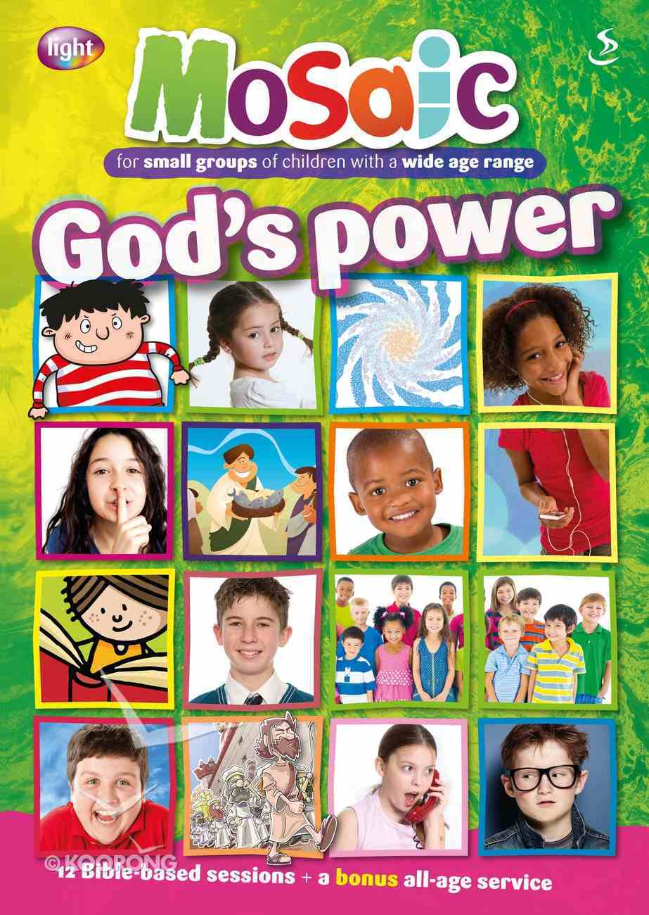 God's Power (Mosaic Series) Paperback