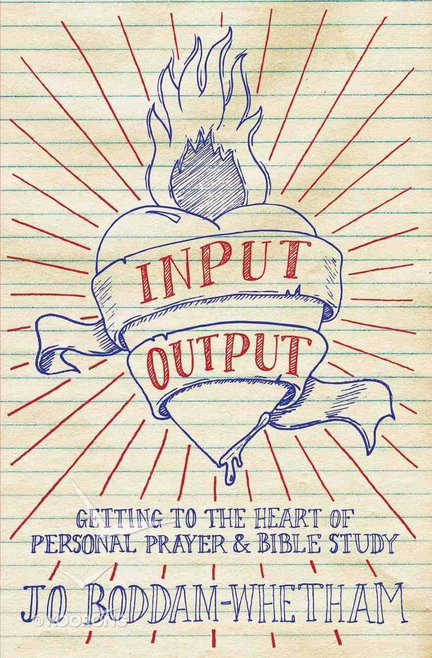 Input Output Paperback