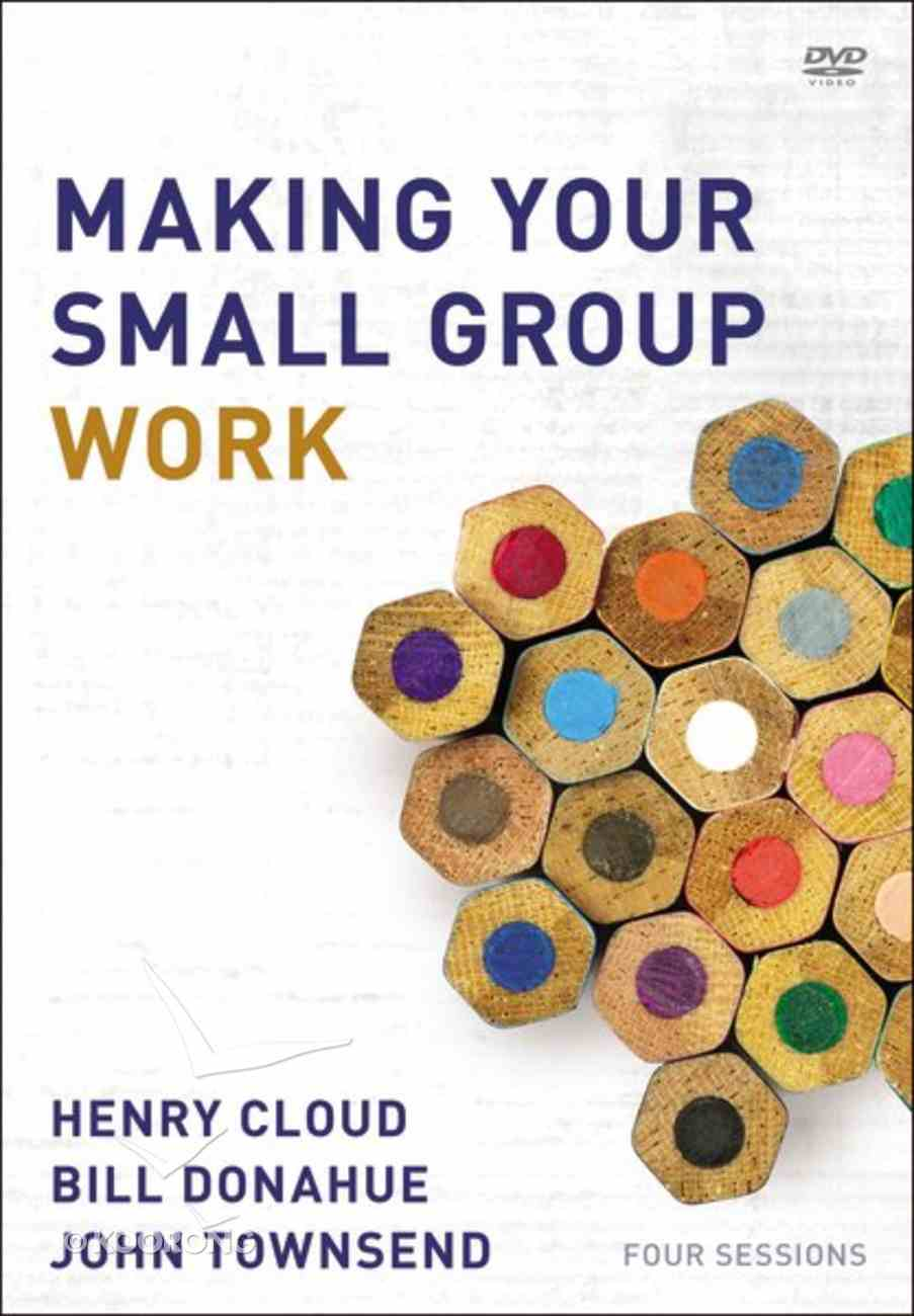 Making Your Small Group Work (A Dvd Study) DVD