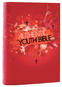 Product: Erv Authentic Youth Bible Red Image