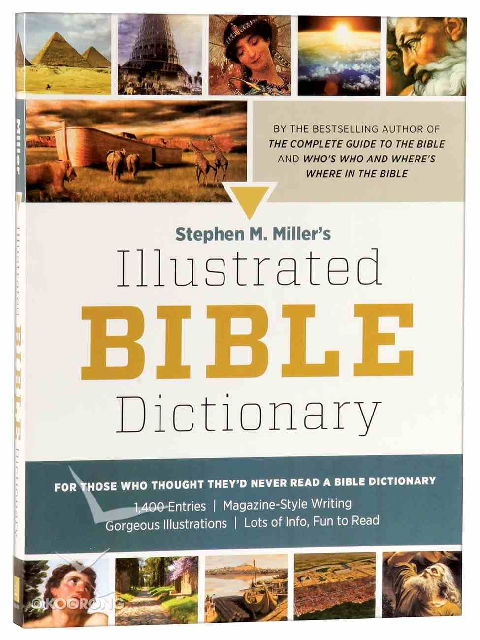 Stephen M Miller's Illustrated Bible Reference 2-Pack (2 Vols) Pack