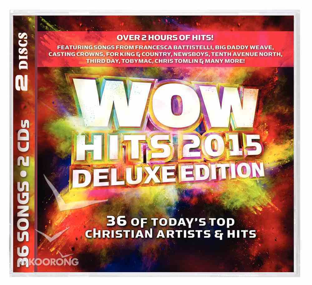 Wow Hits 2015 Deluxe Edition CD