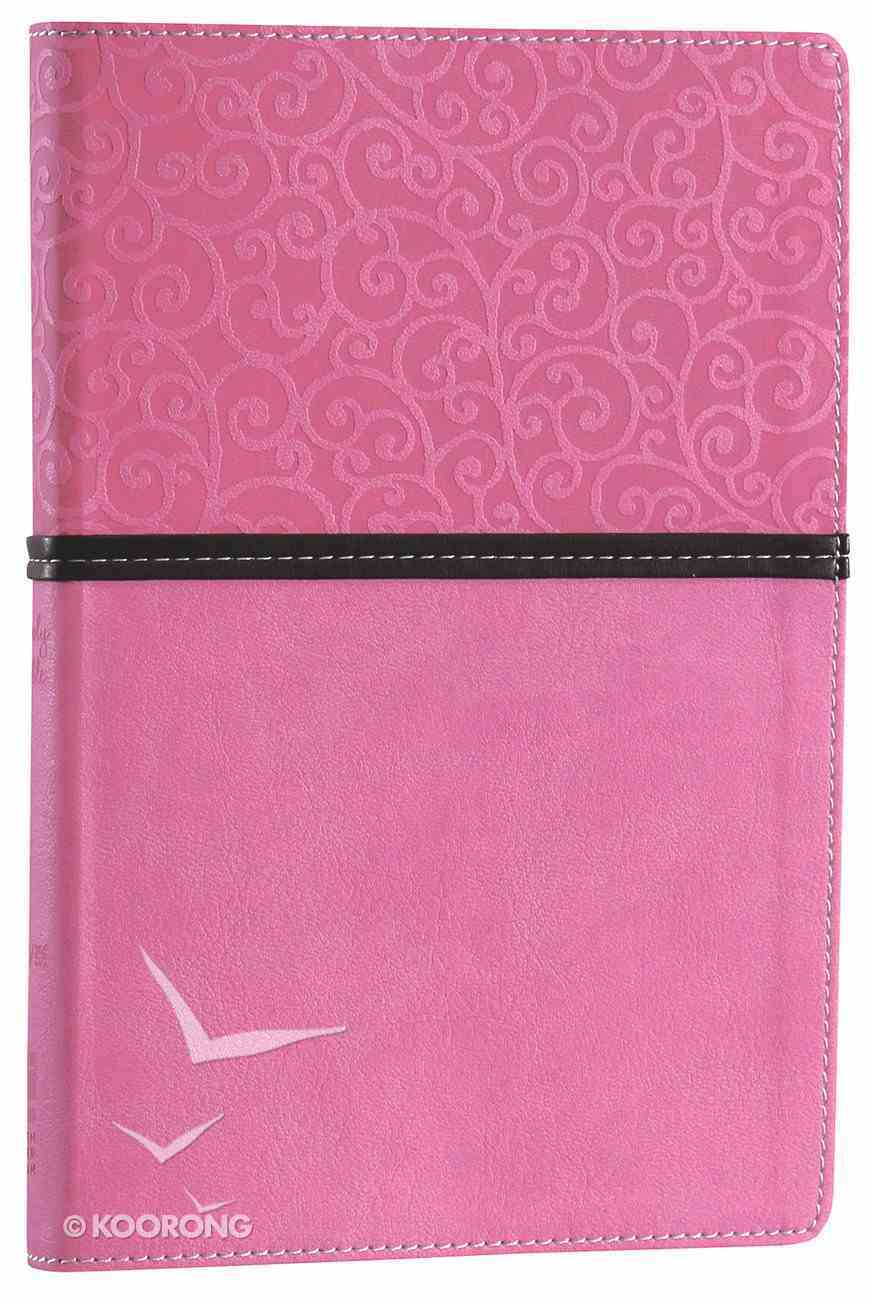 NIV Thinline Bible Pink Brown Duo-Tone (Red Letter Edition) Imitation Leather