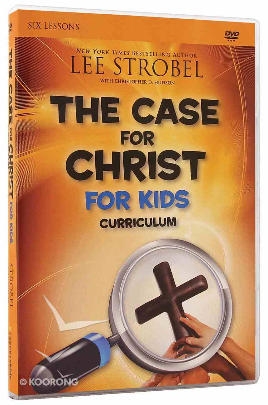 The Case For Christ (Children's Curriculum) Dvd-rom