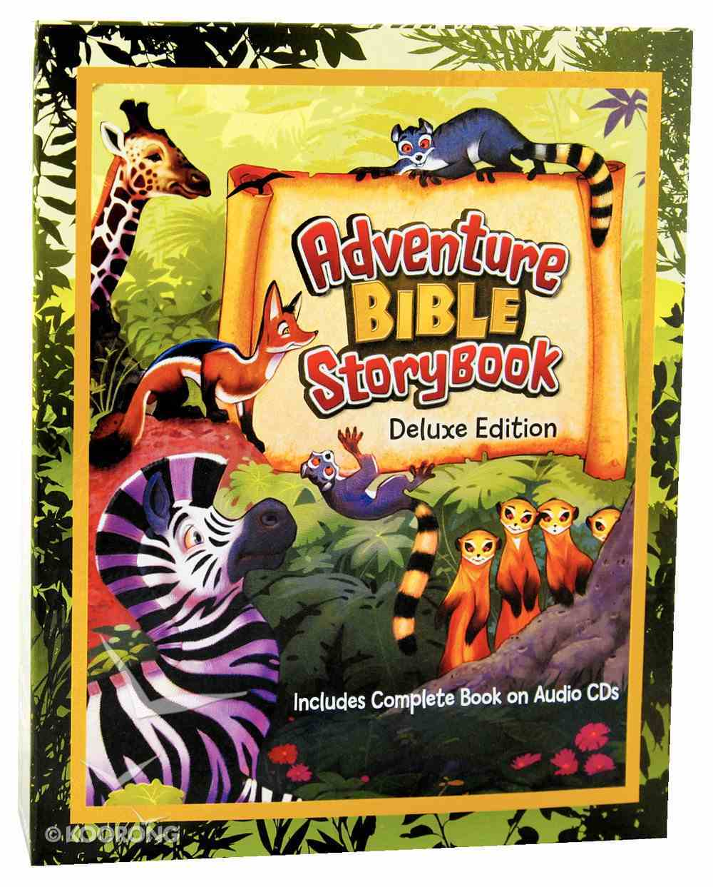 Adventure Bible Storybook Deluxe Edition (Includes 2 Audio Cd's) Hardback
