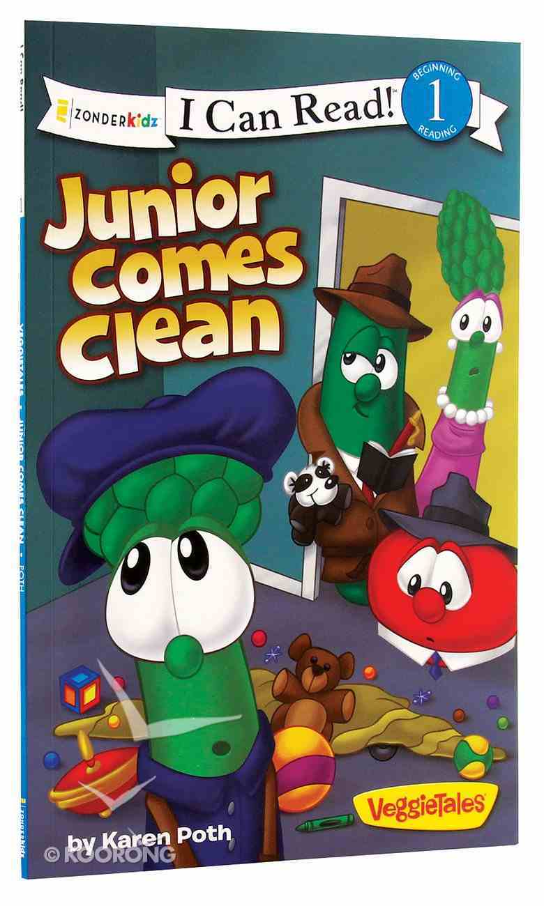 Junior Comes Clean (I Can Read!1/veggietales Series) Paperback