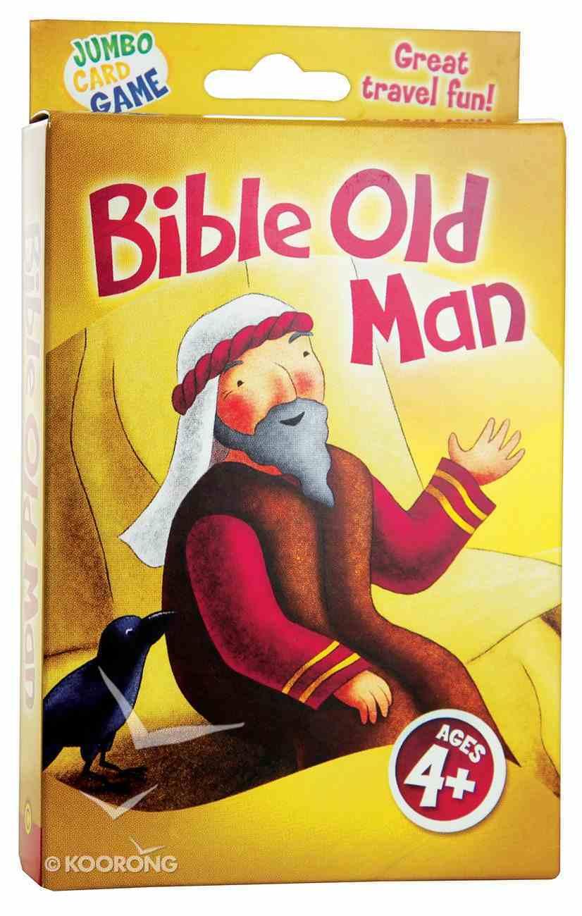 Jumbo Card Games: Bible Old Man Game