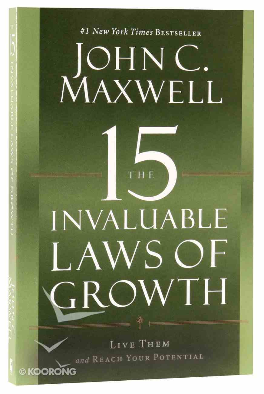 The 15 Invaluable Laws of Growth Paperback