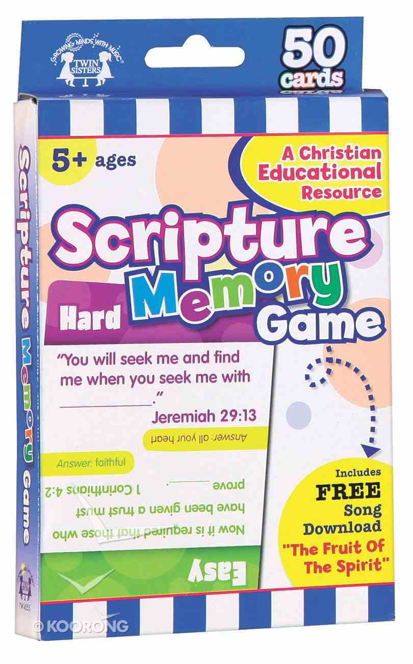 Flash Cards: Scripture Memory Game (Age 5+) (Pk 50) Pack