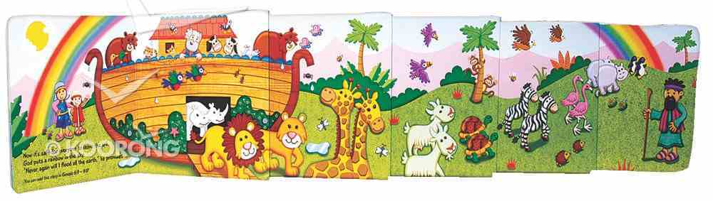 Pull Out Noah and the Animals Board Book