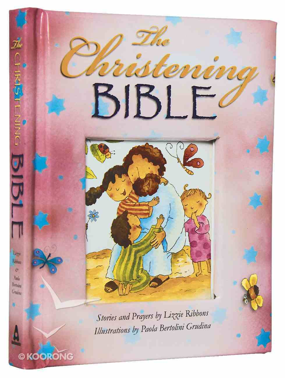 The Christening Bible (Pink) Padded Hardback