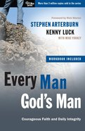 Every Man: Every Man, God's Man (Includes Workbook) image