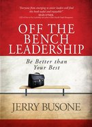 Off The Bench Leadership image