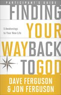 Finding Your Way Back To God (Participant's Guide) image