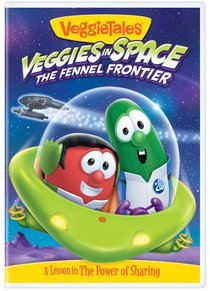 Product: Dvd Veggie Tales #55: Veggies In Space The Fennel Frontier Image