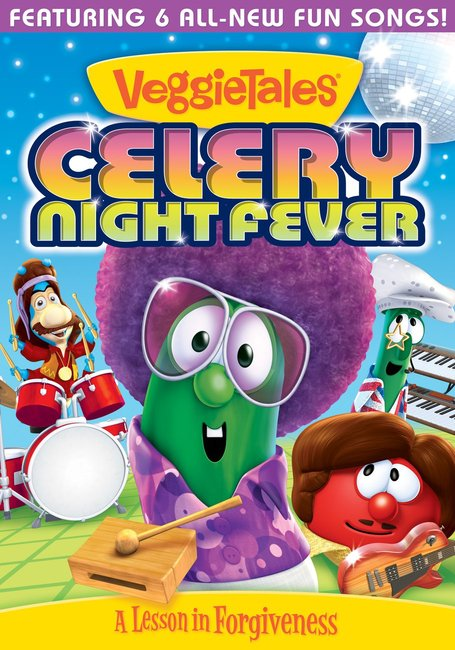 Product: Dvd Veggie Tales #56: Celery Night Fever Image