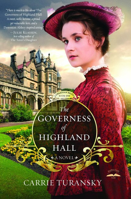 Product: Edwardian Brides #01: Governess Of Highland Hall, The Image