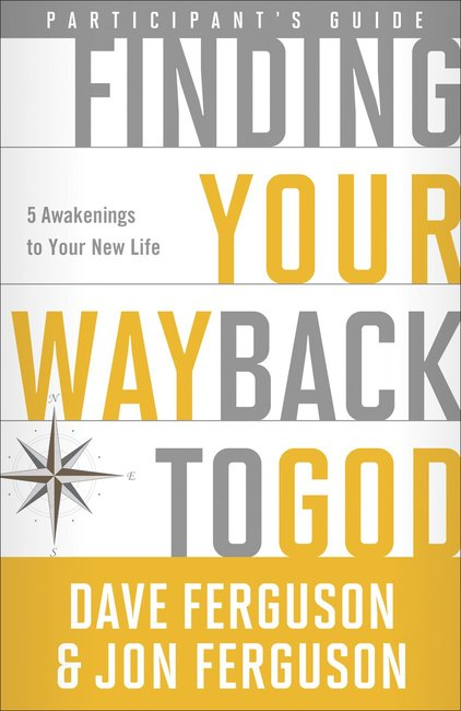 Product: Finding Your Way Back To God (Participant's Guide) Image