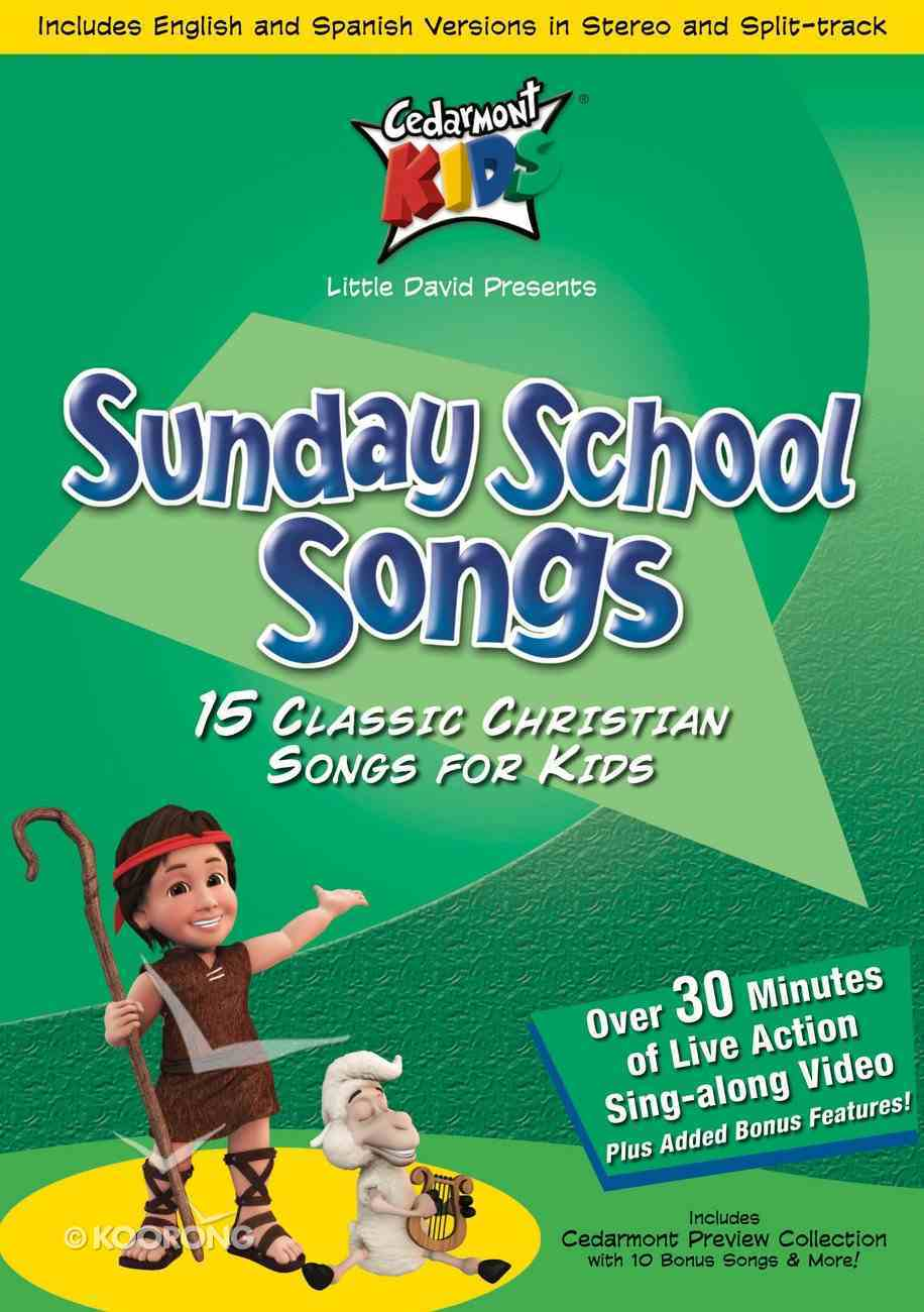 Sunday School Songs (Kids Classics Series) CD