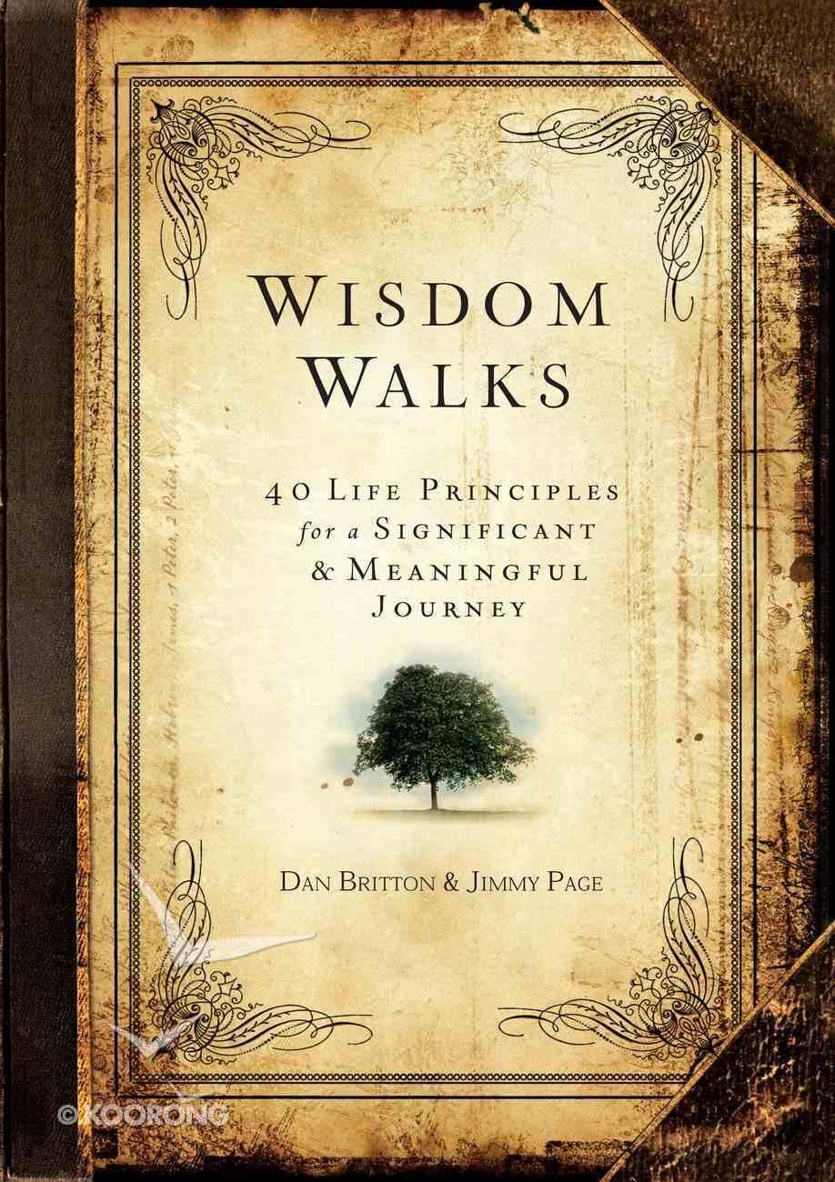 Wisdom Walks Hardback