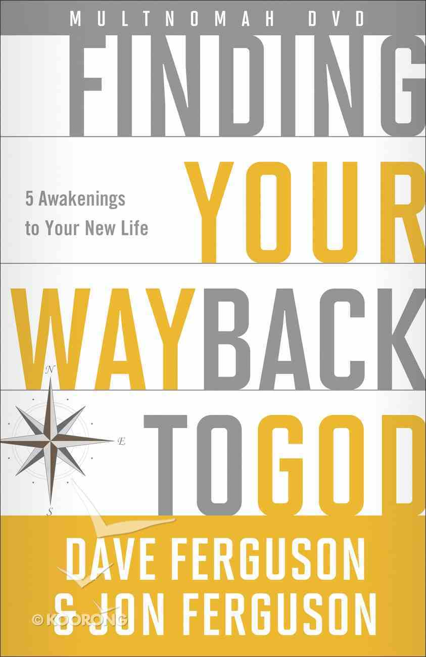 Finding Your Way Back to God (Dvd) DVD