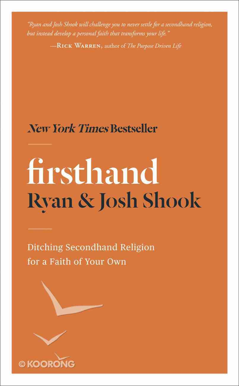 Firsthand Paperback