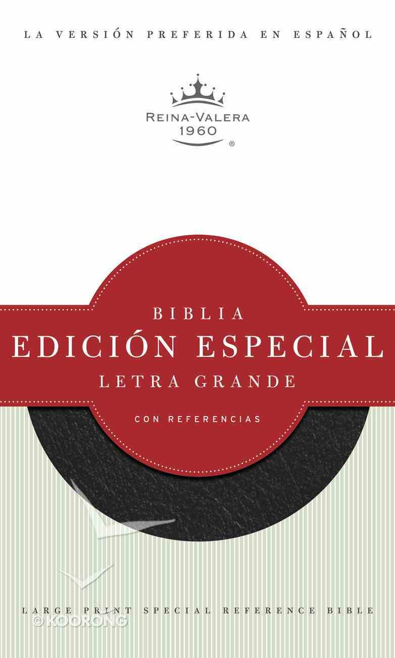 Spanish Special Reference Large Print Black (Red Letter Edition) Bonded Leather