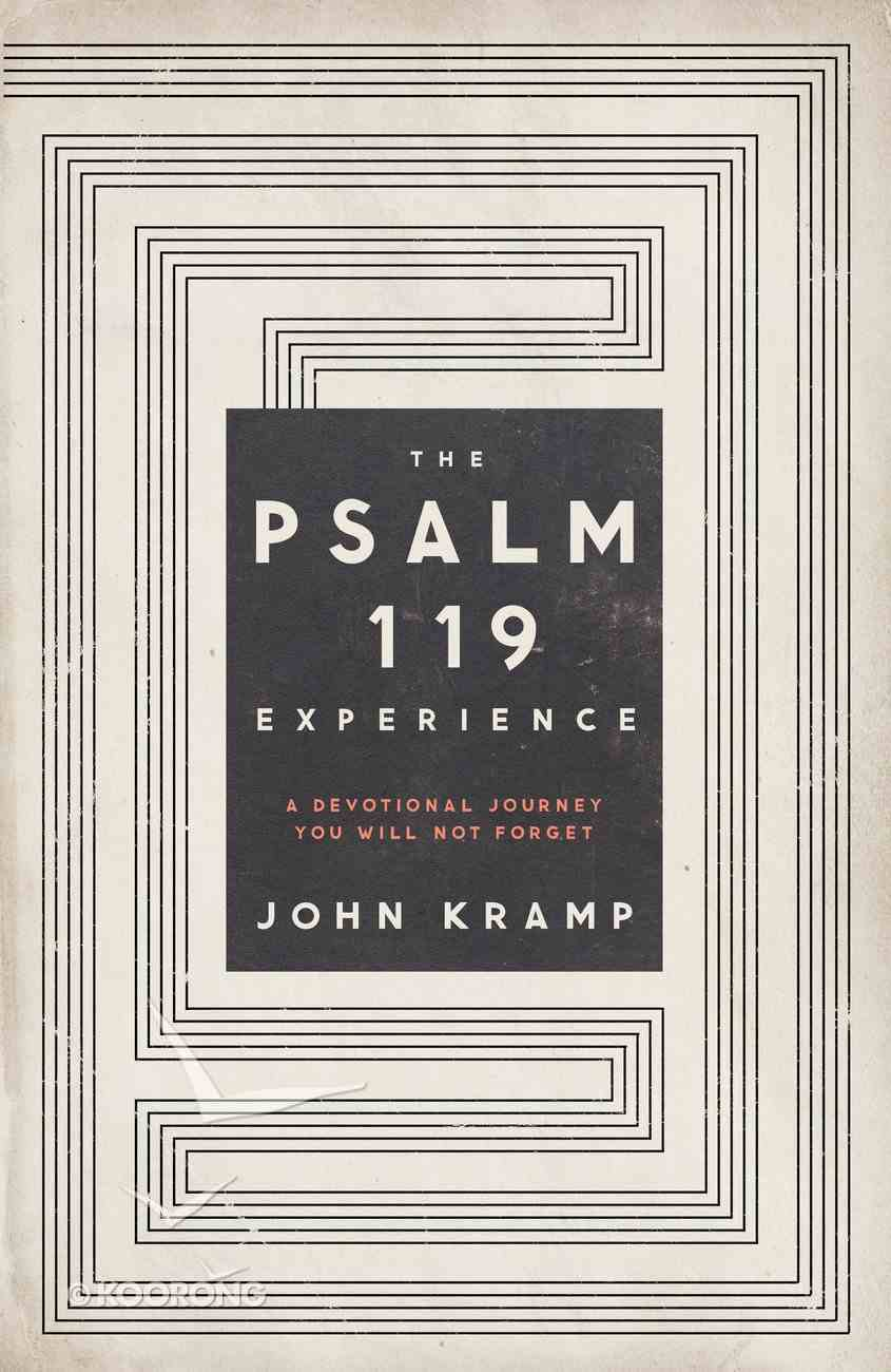 The Psalm 119 Experience Paperback