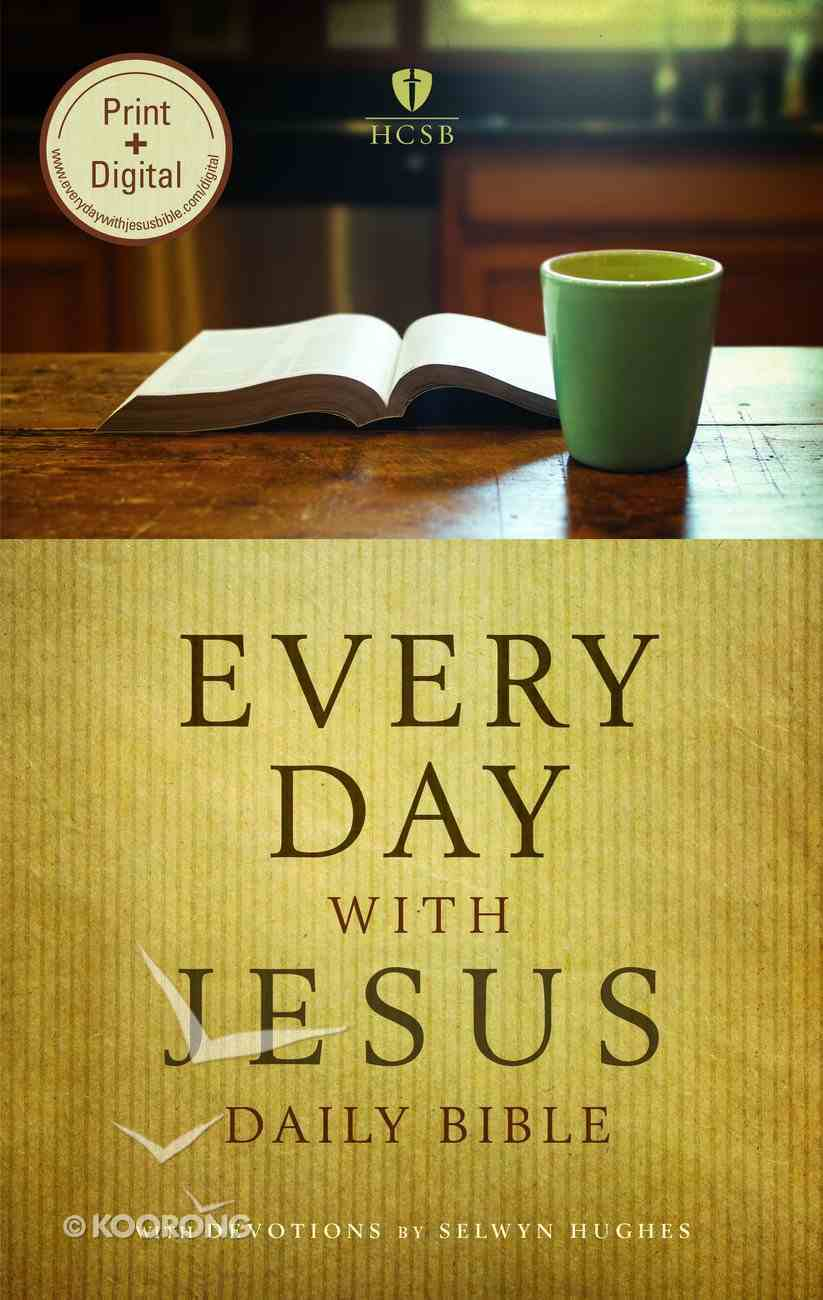 HCSB Every Day With Jesus Daily Bible Paperback